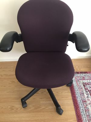 Purple office chair for Sale in Hilliard, OH