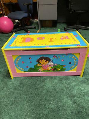 Kids Toy Storage Dora Chest for Sale in Bowie, MD