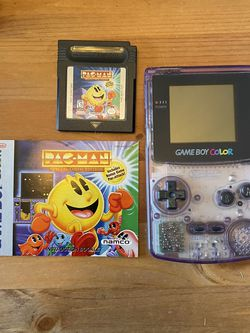 Gameboy Color - Atomic Purple + PacMan for Sale in Damascus,  OR