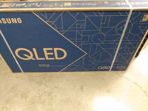 """55"""" Samsung Qled Q80t 4K UHD hdr full array smart TVs 2.1 hdmi 2020 for Sale in Anaheim, CA"""
