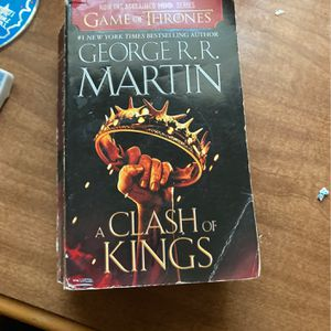 A Clash Of Kings game Of Thrones Series Book for Sale in Fresno, CA
