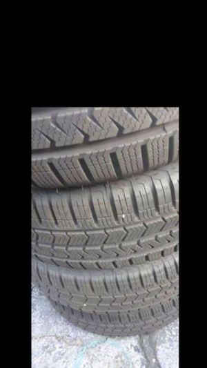 4 tires newer 205/55R17 best deal lots tread for Sale in West McLean, VA