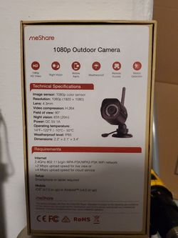 Meshare 1080p Outdoor Cameras Brand New for Sale in Kissimmee,  FL