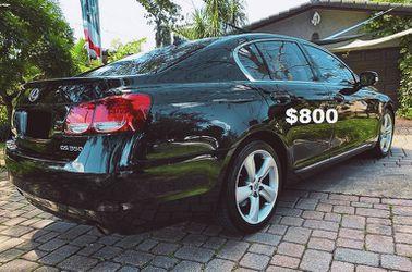 2010 Lexus GS Sedan miles <Low miles>Price $8OO for Sale in Portland,  OR