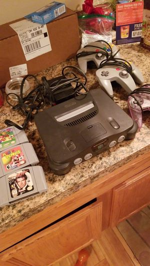Nintendo 64 and games for Sale in Grove City, OH