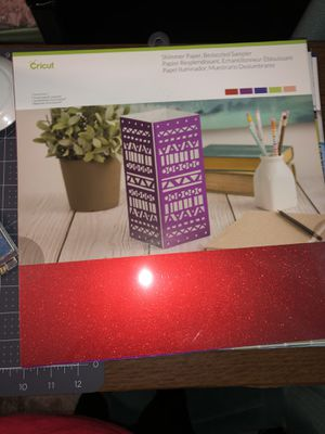 Cricut shimmer card stock for Sale in Merced, CA