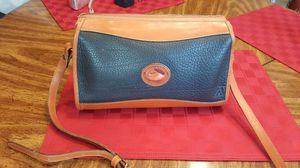 Vintage Dooney & Bourke Navy leather shoulder purse for Sale in Alexandria, VA