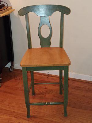 2 matching wood bar stools for Sale in Arlington, VA