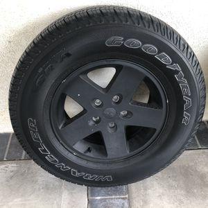 Jeep Wrangler Rims And Tires for Sale in La Mirada, CA