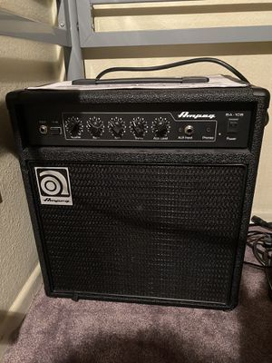 Ampeg BA-108 Bass Combo Amp for Sale in Los Angeles, CA