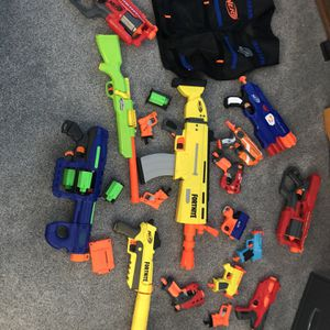 Nerf Gun Lot for Sale in Vancouver, WA