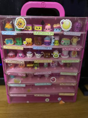 Shopkins seasons 1-3 w/ case for Sale in Saugus, MA