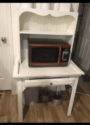 Microwave stand/desk for Sale in Taylorsville, UT