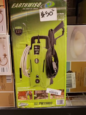 Earthwise 1500 PSI Max Electric Pressure Washer for Sale in North Las Vegas, NV