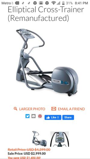 Precor EFX 5.23 Elliptical Cross-Trainer for Sale in St. Louis, MO