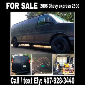 2006 Chevy express 2500 full of detailing equipment for Sale in Gotha, FL