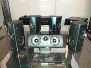 Polk Audio RM8 -wide dispersion array satellite speaker system for Sale in Vancouver, WA
