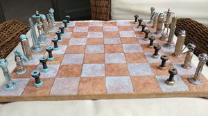 Handmade Chess Set for Sale in Fairfax, VA
