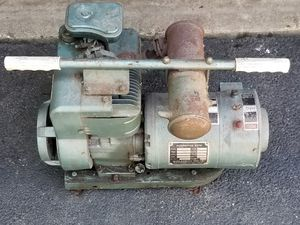 Vintage sears generator Briggs and Stratton motor engine for Sale in Hoffman Estates, IL