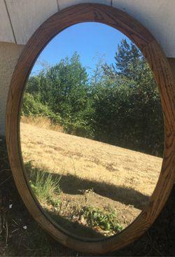 Oval mirror for Sale in Renton,  WA