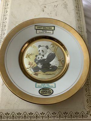 24 KT gold rim Original Chokin Art collection for Sale in Rancho Cordova, CA