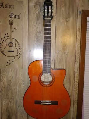 WashBurn Classical C5CE Acoustic/Electric Guitar for Sale in El Dorado, AR
