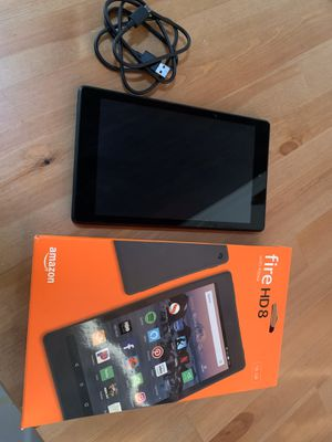 Amazon FIRE HD 8 with ALEXA TABLET for Sale in Queens, NY