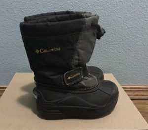 Kids warm boots Size 10 Columbia warm winter snow rain boots. for Sale in Portland, OR