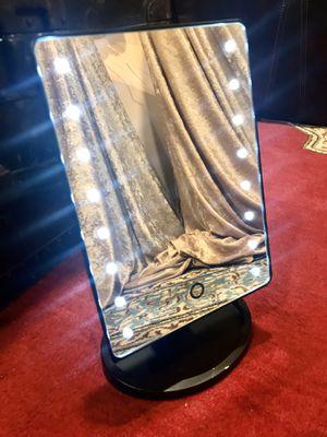 ✨Touchscreen wireless beauty light-up mirror portable vanity! 16 LEDs, 180 Swivel Neck for Sale in Auburn, CA