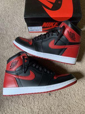 Jordan 1 bred for Sale in Woodbridge, VA