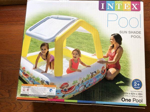 Intex Sun Shade Kiddie Baby Kids Swimming Pool
