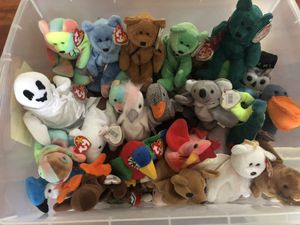 Beanie Babies (58) for Sale in Severn, MD