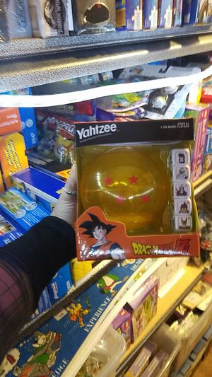 Dragon Ball Z Yahtzee Game Sealed (and many more games to choose from!) for Sale in Olympia, WA