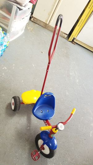 Radio flyer push tricycle for Sale in Plantation, FL