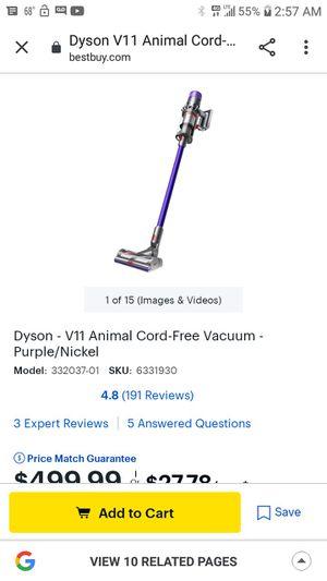 Dyson vacuum animal for Sale in San Antonio, TX
