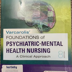 Foundations Of Psychiatric-mental Health Nursing Textbook for Sale in Easton, CT