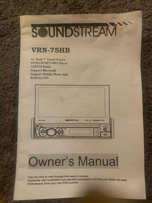 Sound stream VRN-75HB for Sale in Fresno, CA
