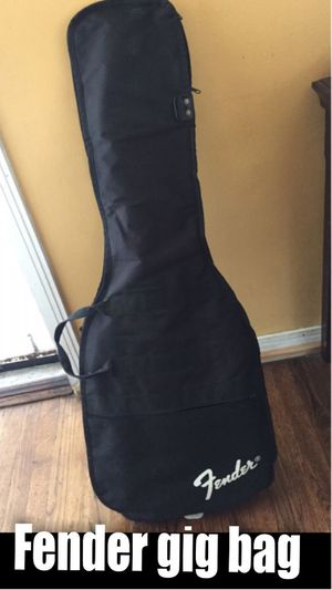 Fender gig bag and other items for Sale in Gardena, CA