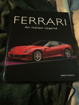 Brand new good condition 35.00 Ferrari history book for Sale in Portland, OR
