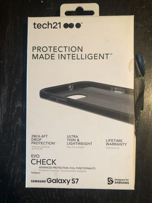 TECH21 SAMSUNG GALAXY S7 (SMOKEY/BLACK) PHONE CASE for Sale in Santa Clarita, CA