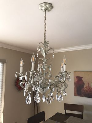 Crystal Chandelier with LED lights $85.00 for Sale in Union City, CA