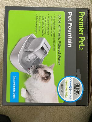 Cat or dog filtered drinking water fountain for Sale in Perris, CA