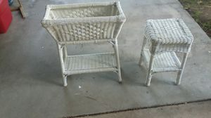 Wicker patio furniture for Sale in Modesto, CA