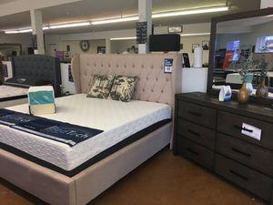 King Bedroom Set- No Mattress for Sale in Phoenix, AZ