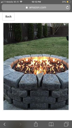 Stanbroil LP Propane Gas Fire Pit Stainless Steel Burner Ring Installation Kit, 12-inch for Sale in San Jose, CA