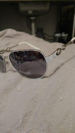 Roca wear sunglasses ,aviator white/ silver for Sale in Seattle, WA