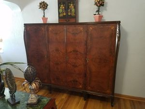 Antique wooden armoire with 4 locking doors for Sale in Duluth, GA