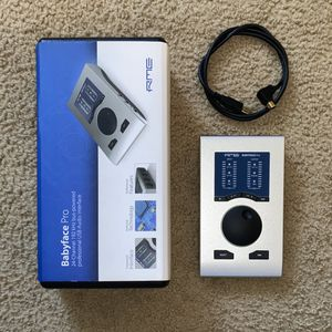 RME Babyface Pro USB Audio Interface for Sale in Seattle, WA