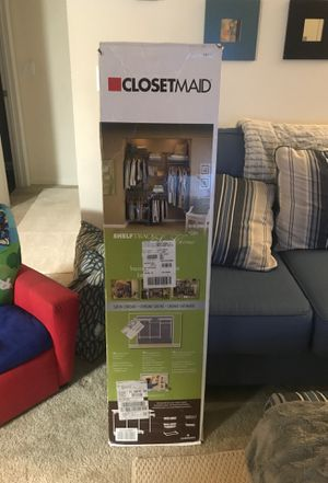 Closet Maid shelf track for Sale in Brandon, FL
