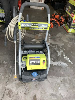 Ryobi 2000psi electric pressure washer for Sale in Fresno, CA